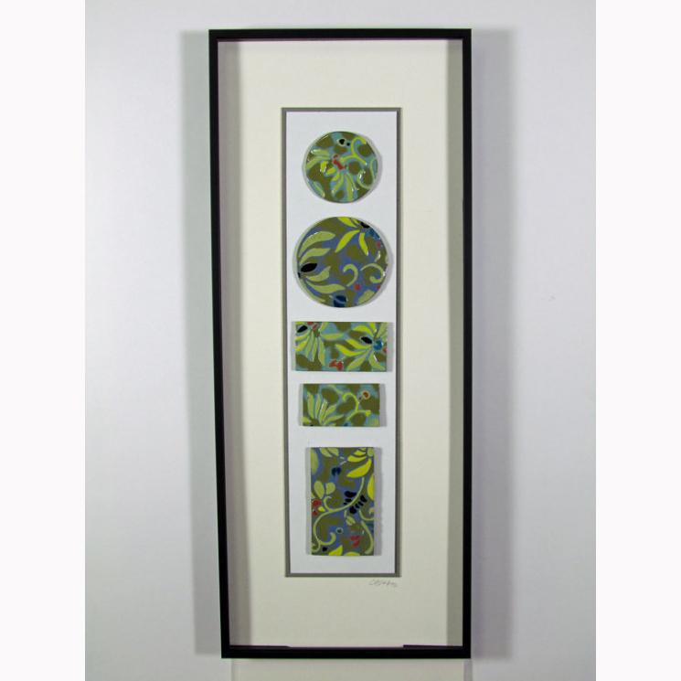 Rio Tigre Tile Collection: framed