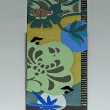 Nouveau Floral-Blue Series #2