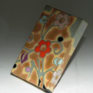 Red Petal Art Tile