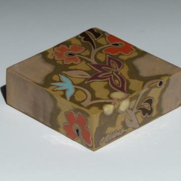 Dawn Blush Square Art Tile