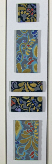 """Zanzibar"" Framed Porcelain Tile Collection"