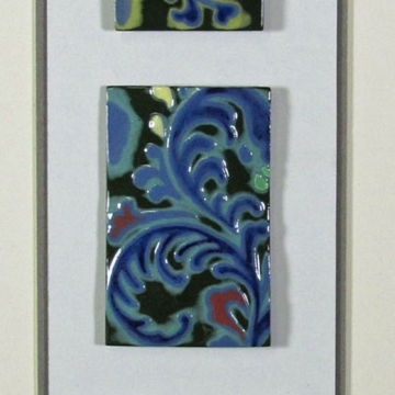 """Agadir"" Framed Porcelain Tile Collection"