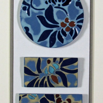 """Marbella"" Framed Porcelain Tile Collection"