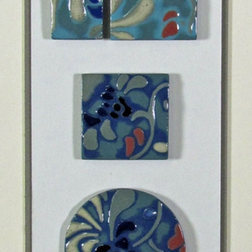 """Iguazu"" Framed Porcelain Tile Collection"