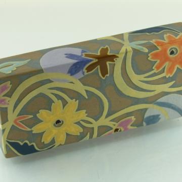 No.3 Floral Art Tile Wall Brick