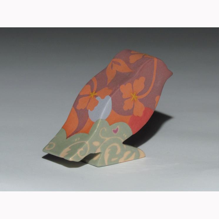 Redflock sculptural porcelain bird