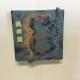 Jade Koala Dimensional Stoneware Art Tile on wall
