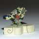 """""""Feathers Up"""" porcelain songbird sculpture on base"""