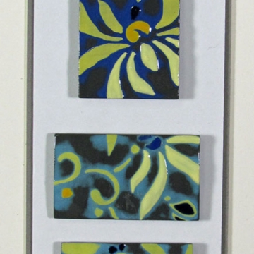 Framed Tile Collections By Colleen Wiliams Clay Colleen