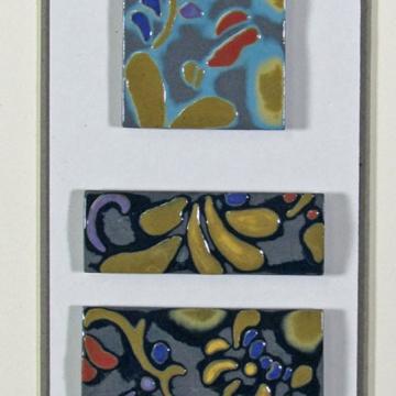 """Zanzibar"" Framed Porcelain Tile Collection"