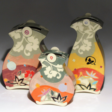 Button Vases