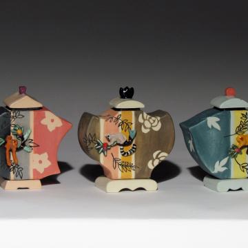 Kimono Series: Lemur Jars