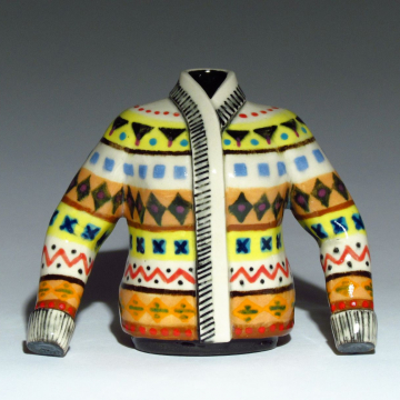 Nordic Sweater Vases
